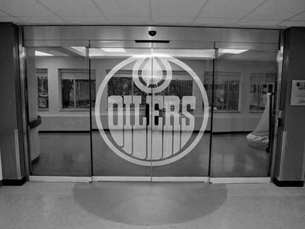 OILERS Glenrose Oil Centre Doors