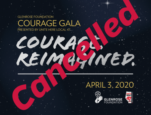 Courage Gala 2020 Cancelled