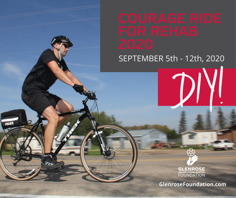 Courage Ride for Rehab save the date