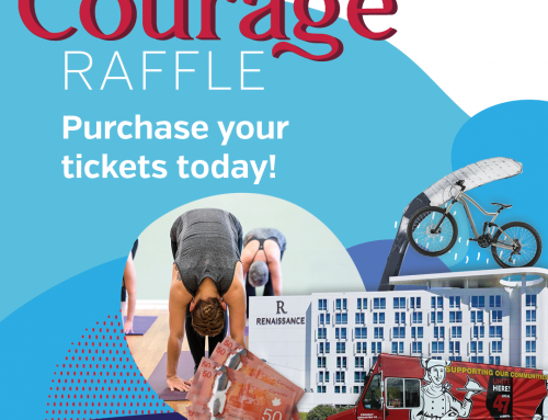 Courage Raffle